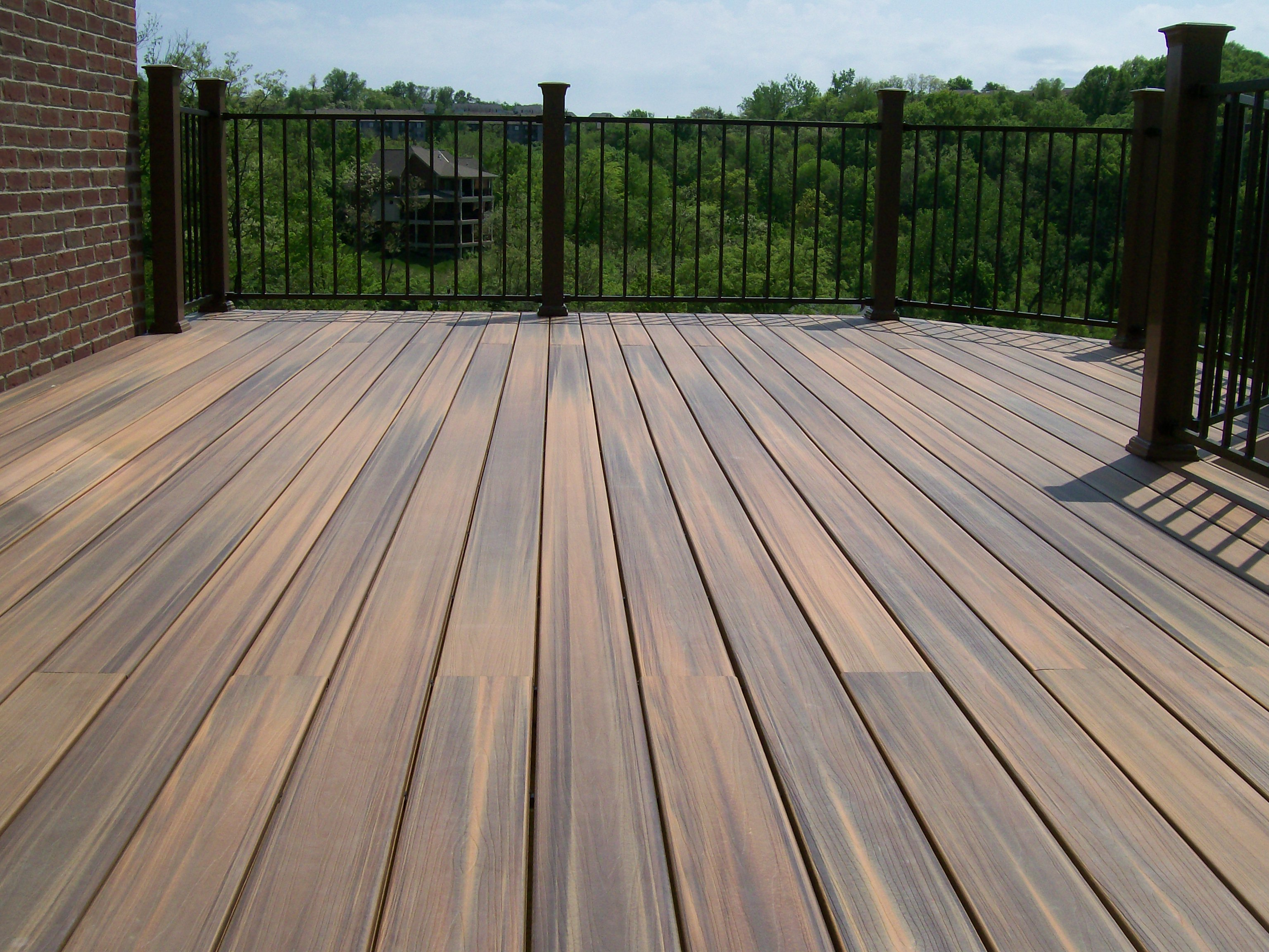 Wood Deck Frame - COLORADO DREAM DECKS