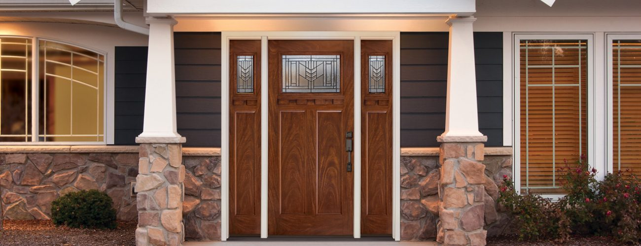 Charmant Thereu0027s No Shortage Of Front Door Styles And, Overall, Most Entry Doors  Perform Equally Well, But The Materials Theyu0027re Made Of U2013 Fiberglass, Steel  Or Wood ...